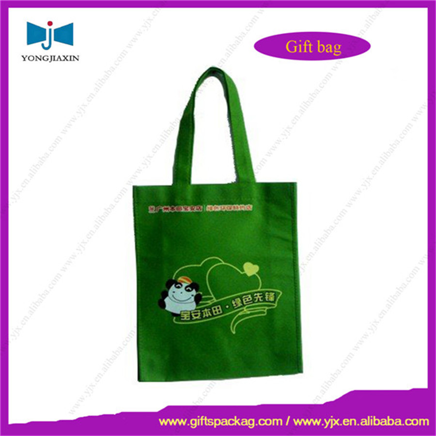 non-woven green bag,packing bag factory,shopping bag
