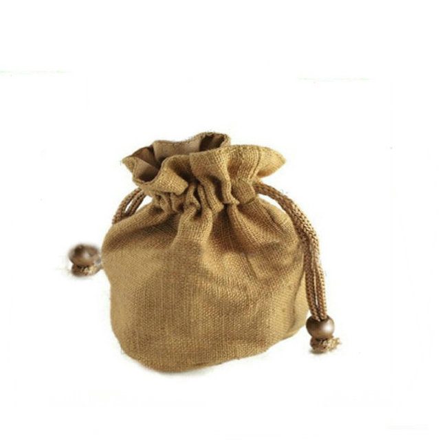 packing mini jute bag factory