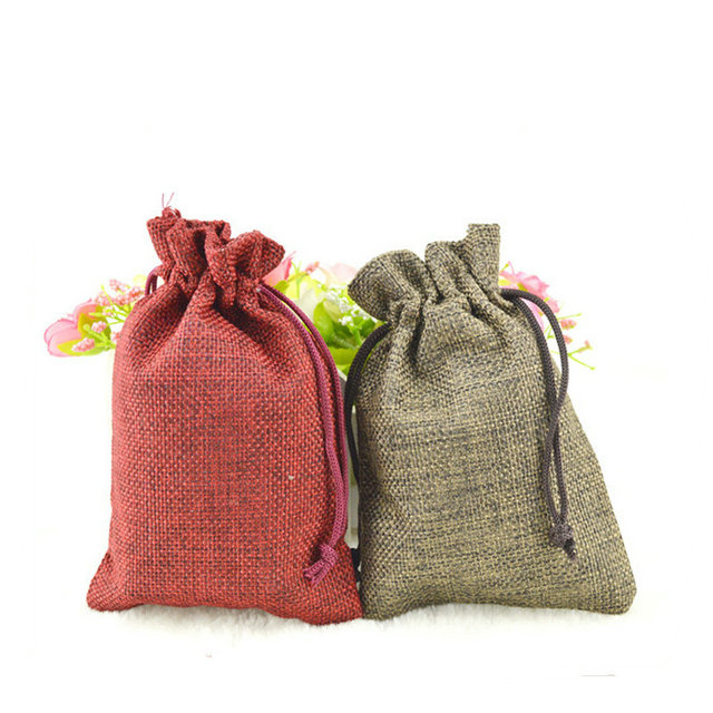 High quanlity jute durable bags with logo