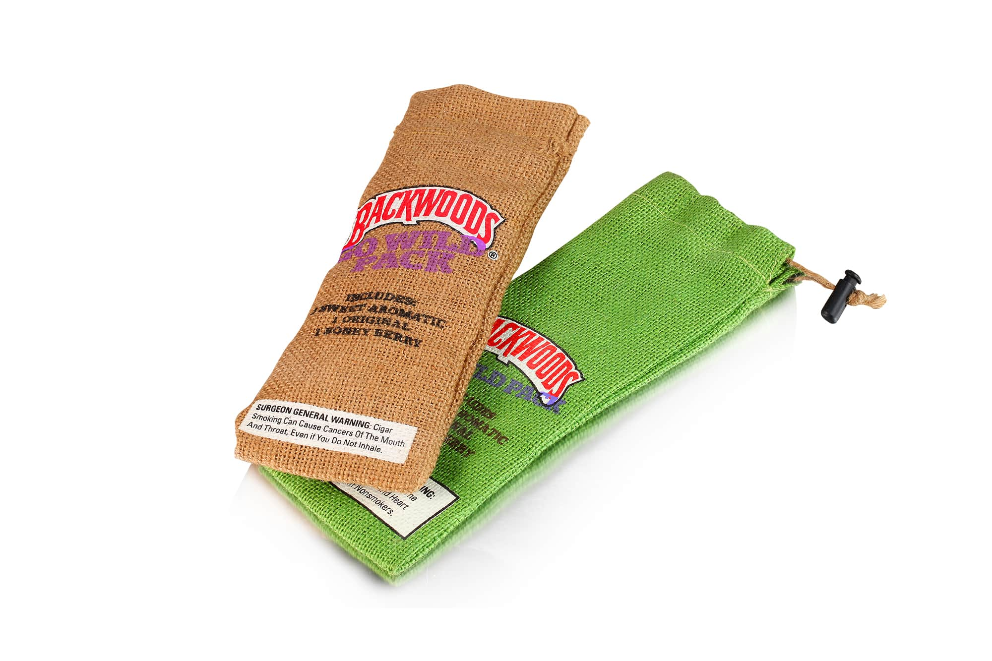 Eco- friendly jute pouch with stopper