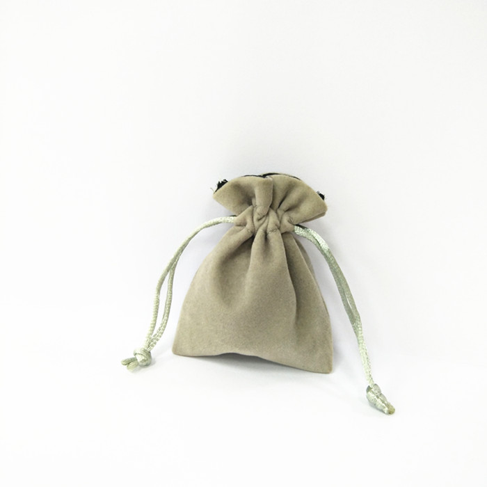 Small dust jewelry soft vevlet pouches