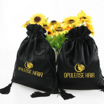 Best selling item satin pouch with custom logo