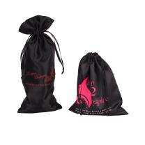 Screen Printing Surface Handling and Satin Material hair bags for bundles
