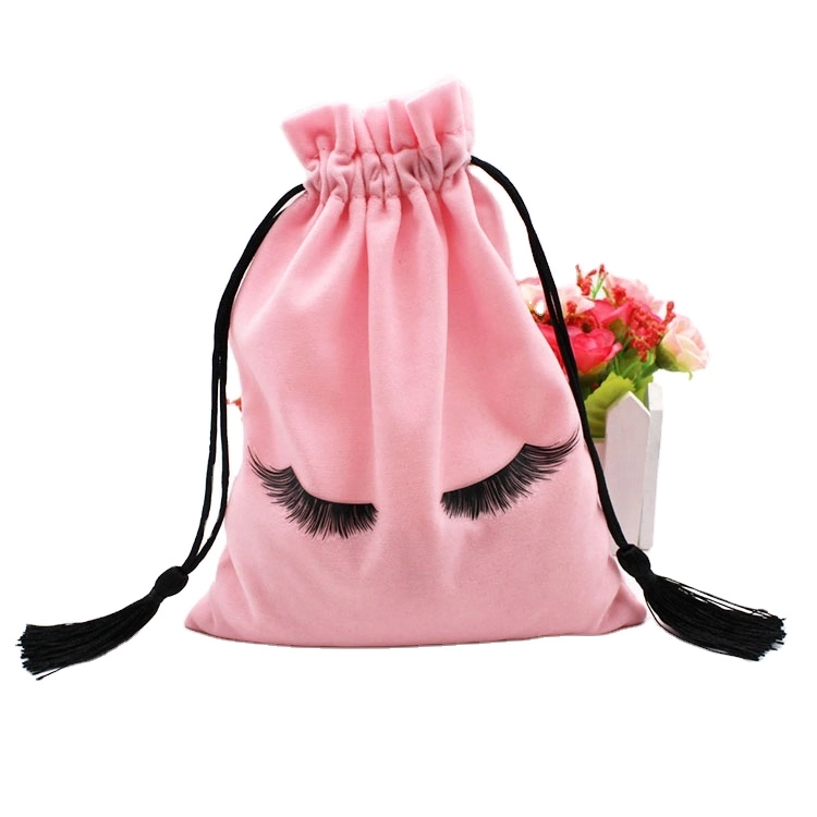 New Release Promotional Multipurpose Waterproof Lightweight Drawing Satin String Bag