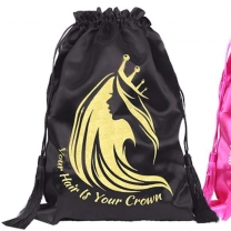 Top selling product satin packing bag with customized logo
