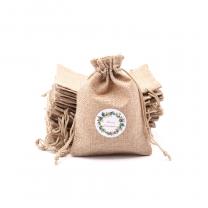 Natural Promotion Jute Linen Christmas Candy Mini Custom Bag