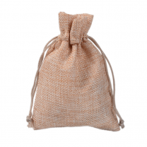Customized OEM Small Linen Storage Gift Promotional Bags Drawstring Pouch