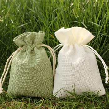 mini jute jewelry pouch jute bag wholesale