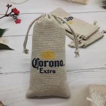 New Product Burlap Jute Drawstring Bag