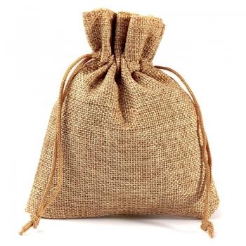 Stylish Natural Raw Jute Pouch bag