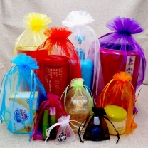 Custom Organza bag Wedding Christmas Gift Bags Jewelry Packaging Organza Pouch Bag