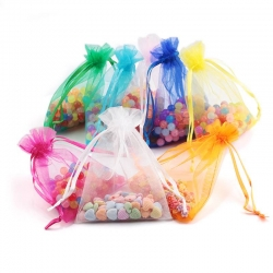 Organza bag Christmas wedding gift bag jewelry packing Display jewelry bag pouch favor bags
