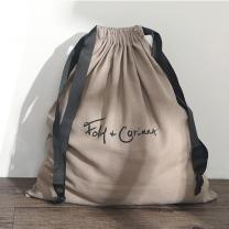 cheaper custom velvet /cotton muslin small drawstring bag