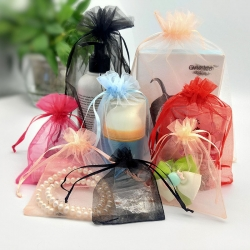 Organza Bags Small Pouches Jewelry Package Yarn Christmas Wedding Candy Packaging Cosmetic Gift Bag