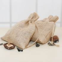 Jewelry Pouches Gift Burlap Party Favor Jute Bags with Drawstring
