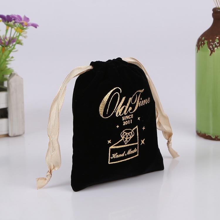 High Quality Custom Velvet Drawstring Bags Gift Pouch Wholesale Velvet Bag
