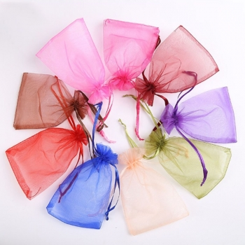 Wholesale Jewelry Packaging Organza Bags Wedding Party Decoration Gift Bags
