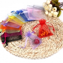 Large Organza Bag Christmas Wedding Gift Bags Colorful Jewelry Packing Bags Display Jewelry Bag