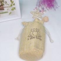 Custom printed jute burlap rice bag for sale